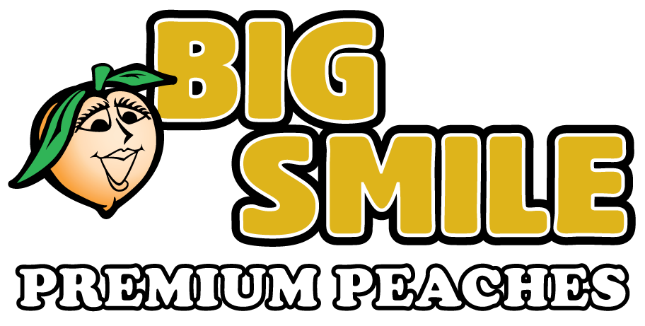 Big Smile Peaches Logo